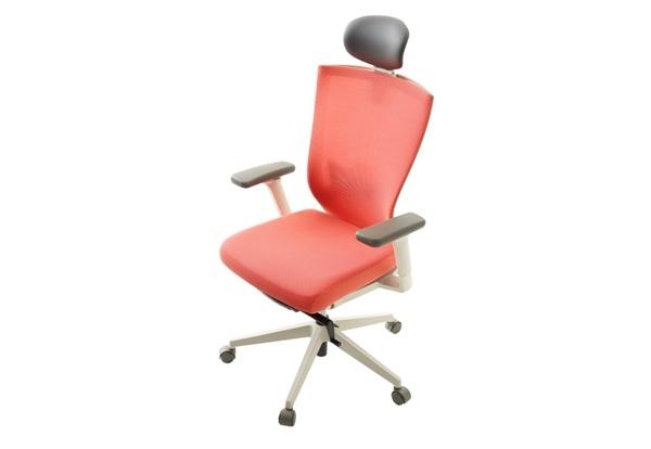 淡雅红舒适家居电脑椅